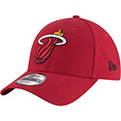 New Era Men's Miami Heat 9Forty Adjustable Hat