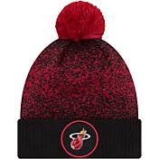 New Era Men's Miami Heat On-Court Knit Hat