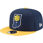 New Era Men's Indiana Pacers 9Fifty City Edition Adjustable Snapback Hat