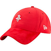 New Era Men's Houston Rockets On-Court 9Twenty Adjustable Hat
