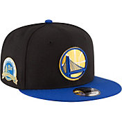 New Era Men's Golden State Warriors 5-Time NBA Champions 9Fifty Adjustable Snapback Hat