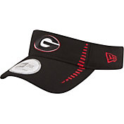 New Era Men's Georgia Bulldogs Black Speed Visor