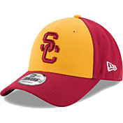 New Era Men's USC Trojans Gold/Cardinal The League Blocked 9FORTY Adjustable Hat