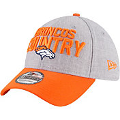 New Era Men's Denver Broncos 2018 NFL Draft 39Thirty Stretch Fit Grey Hat