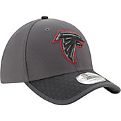 New Era Men's Atlanta Falcons Sideline 2017 39Thirty Graphite Stretch Fit Hat