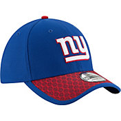 New Era Men's New York Giants Sideline 2017 On-Field 39Thirty Stretch Fit Hat