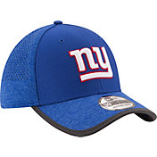 New Era Men's New York Giants 2017 Training Camp 39Thirty Blue Flex Hat