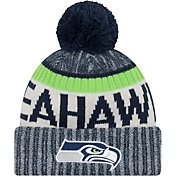 New Era Men's Seattle Seahawks Sideline 2017 Sport Knit