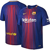 Nike Men's Barcelona 17/18 Breathe Stadium Home Jersey