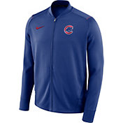 Nike Men's Chicago Cubs Dri-FIT Full-Zip Knit Jacket