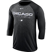 Nike Men's Chicago White Sox Dri-FIT Authentic Collection Legend Three-Quarter Sleeve Shirt