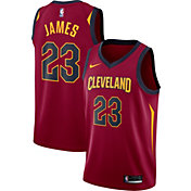 Nike Men's Cleveland Cavaliers LeBron James #23 Burgundy Dri-FIT Swingman Jersey