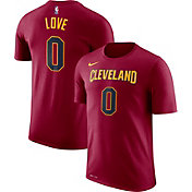 Nike Men's Cleveland Cavaliers Kevin Love #0 Dri-FIT Burgundy T-Shirt