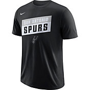 Nike Men's San Antonio Spurs Dri-FIT Black T-Shirt