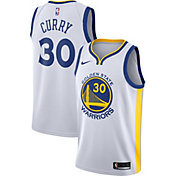 Nike Men's Golden State Warriors Stephen Curry #30 White Dri-FIT Swingman Jersey