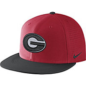 Nike Men's Georgia Bulldogs Red/Black AeroBill True Performance Hat