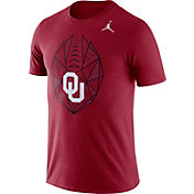 Jordan Men's Oklahoma Sooners Crimson Dri-FIT Football Icon T-Shirt