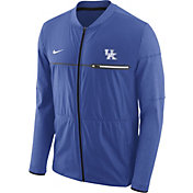 Nike Men's Kentucky Wildcats Blue Elite Hybrid Football Full-Zip Jacket