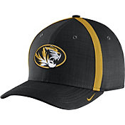 Nike Men's Missouri Tigers Black AeroBill Football Sideline Coaches Classic99 Hat