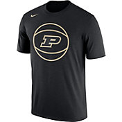 Nike Men's Purdue Boilermakers Basketball Legend Black T-Shirt