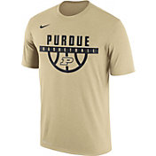 Nike Men's Purdue Boilermakers Old Gold Basketball Legend T-Shirt