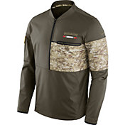 Nike Men's Tampa Bay Buccaneers Salute to Service 2017 Shield Hybrid Jacket