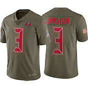 Nike Men's Home Limited Salute to Service Tampa Bay Buccaneers Jameis Winston #3 Jersey