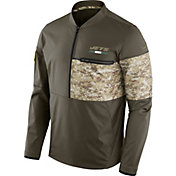 Nike Men's New York Jets Salute to Service 2017 Shield Hybrid Jacket