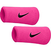 Nike Breast Cancer Awareness Swoosh Doublewide Wristbands