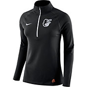Nike Women's Baltimore Orioles Dri-FIT Core Half-Zip Jacket