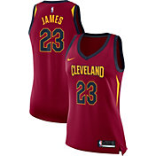 Nike Women's Cleveland Cavaliers LeBron James #23 Burgundy Dri-FIT Swingman Jersey