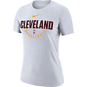 Nike Women's Cleveland Cavaliers Dri-FIT White Practice T-Shirt