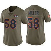 Nike Women's Home Limited Salute to Service 2017 Denver Broncos Von Miller #58 Jersey