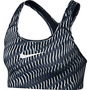Nike Women's Pro Classic Rainbow Wave Printed Sports Bra