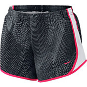 Nike Girls' Dry Tempest Printed Tempo Running Shorts