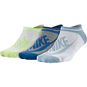 Nike Women's Sportswear Striped No Show Socks 3 Pack