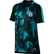 Nike Youth Chelsea FC Dry Squad Black T-Shirt