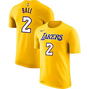 Nike Youth Los Angeles Lakers Lonzo Ball #2 Dri-FIT Gold T-Shirt