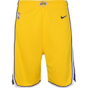 Nike Youth Los Angeles Lakers Dri-FIT Gold Swingman Shorts