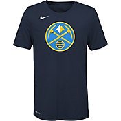Nike Youth Denver Nuggets Dri-FIT Navy Logo T-Shirt