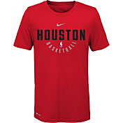 Nike Youth Houston Rockets Dri-FIT Red Practice T-Shirt