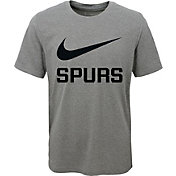 Nike Youth San Antonio Spurs Dri-FIT Legend Grey T-Shirt