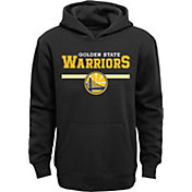 Outerstuff Youth Golden State Warriors Black Pullover Hoodie