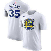 Nike Youth Golden State Warriors Kevin Durant #35 Dri-FIT White T-Shirt
