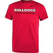 Nike Youth Georgia Bulldogs Red Legend T-Shirt