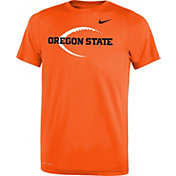 Nike Youth Oregon State Beavers Orange Football Icon Legend T-Shirt