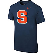 Nike Youth Syracuse Orange Blue Logo T-Shirt