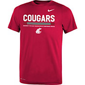 Nike Youth Washington State Cougars Crimson Football Staff Legend T-Shirt