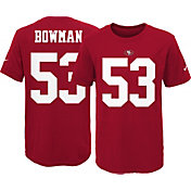 Nike Youth San Francisco 49ers NaVorro Bowman #53 Pride Red T-Shirt