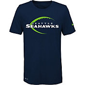 Nike Youth Seattle Seahawks Legend Icon Performance Navy T-Shirt